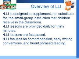 Leveled Literacy Overview