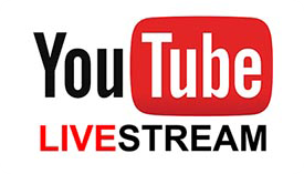 YouTube Livestream Icon