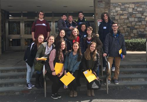 Hen Hud students attended the 2017 Young Authors' Conference