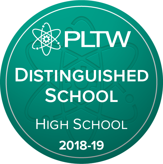 HHHS Named a PLTW Distinguished School Two Years in a Row