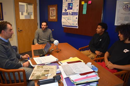 New Superintendent Audio Interview: Varsity Basketball
