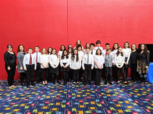 Hen Hud Students Perform at All-County Chorus Concert