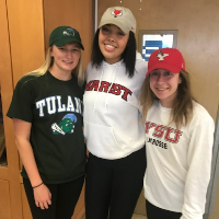 Three Seniors Sign National Letters of Intent