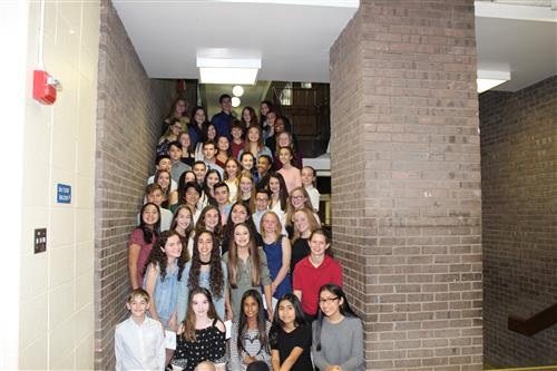48 Inducted into National Junior Honor Society