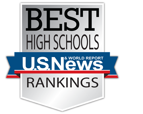 US News and World Report Best High Schools Rankings Logo