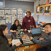 Guest Speakers, Engineering Challenges Top off School Year for PLTW Classes